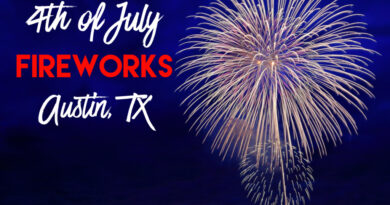 4th of July Fireworks in Austin, TX
